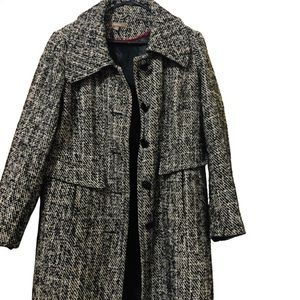 Vintage Style Katies black and white winter coat